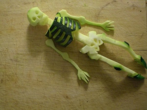 courgette skeleton