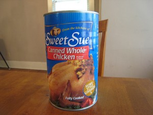 chicken in a can